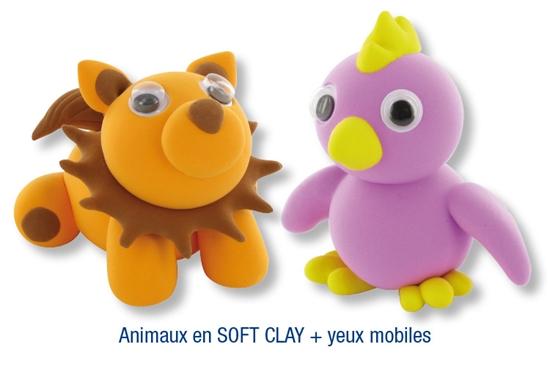 animaux en p 226 te 224 modeler soft clay modelage quot id 233 es cr 233 a quot 10 doigts 10 doigts