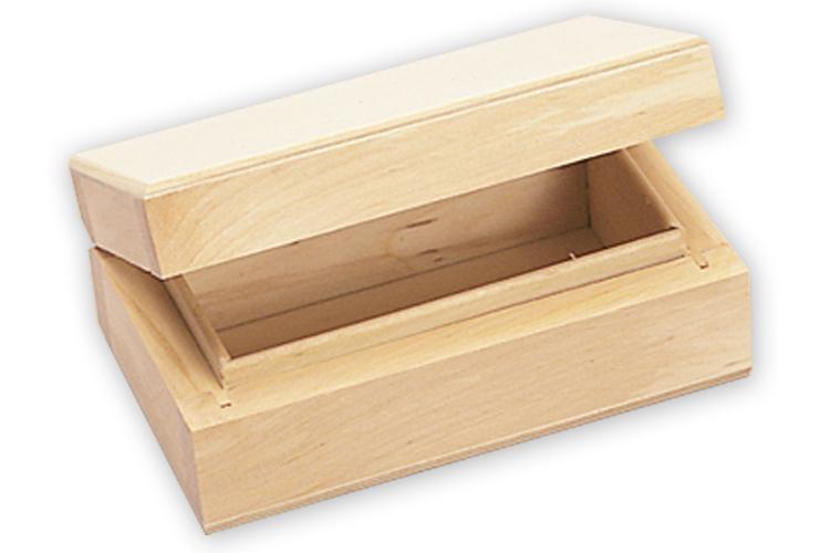 Boite rectangulaire en bois bo tes et coffrets bois for Boite en bois a decorer