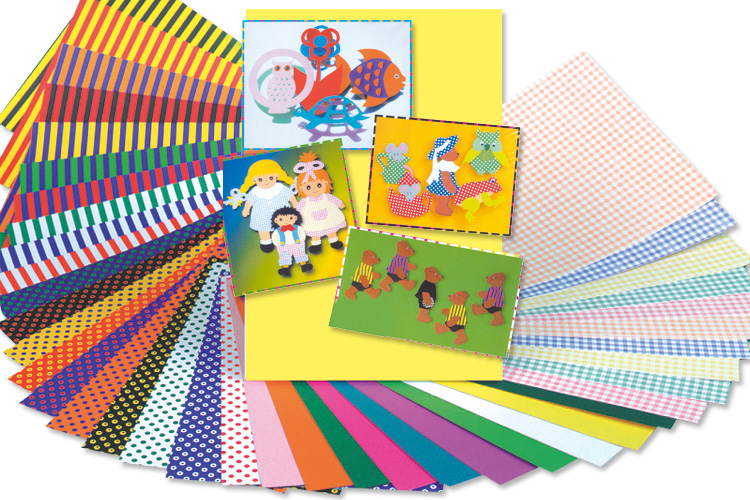 Set de cartes fantaisie assortiment papiers divers for Set de bureau fantaisie