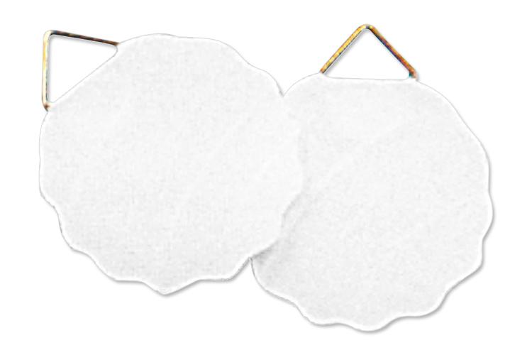 Set de 12 ou 100 attache cadres auto adh sifs divers - Attache cadre autocollant ...