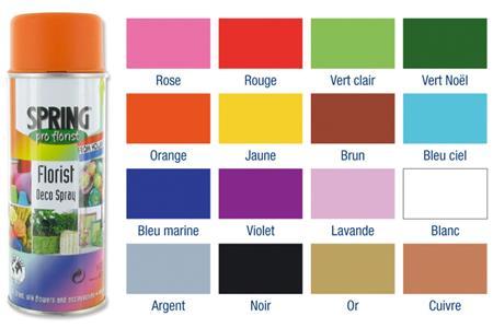 Peintures acryliques en a rosol 150 ou 400 ml peinture for Peinture bombe bois