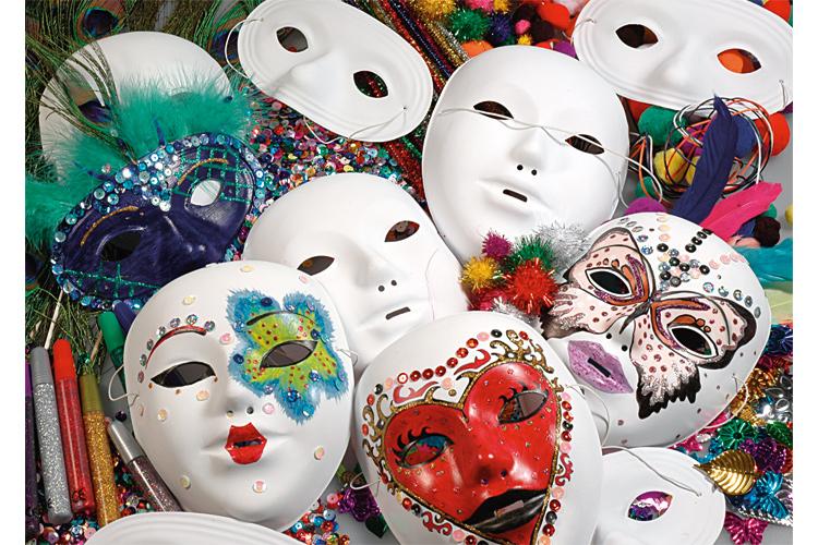 Masques et loups blancs d corer qualit sup rieure for Decorer un masque blanc