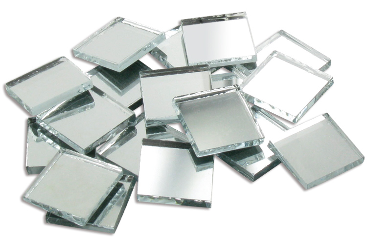 Sets de miroirs carr s en verre 1x1 1 5x1 5 2x2 5x5 ou 7 6x7 6 cm miroirs accessoires for Petits miroirs ronds